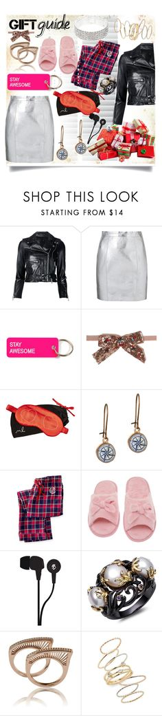 """""""Holiday Gift Guide"""" by jeneric2015 ❤ liked on Polyvore featuring interior, interiors, interior design, home, home decor, interior decorating, R13, Yves Saint Laurent, Various Projects and Gucci"""