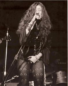 Janis Joplin (Ohhh, does anyone know which performance/year this is from? I haven't see this photo before!)