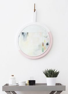 DIY Hanging Mirror