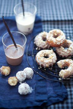 Cannelle et Vanille: Lara's Gluten Free Maple Glazed Doughnuts