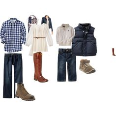 Love this and mom can also add/remove the denim jacket and/or scarf for different looks too