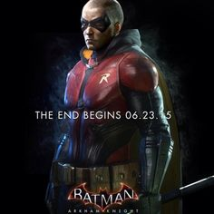 At the age of nine, Timothy Drake cleverly deduced the identities of Batman and Robin. Four years later, after the death of Jason Todd, Tim convinced Batman that he should be the new Robin. Batman Arkham Knight Robin, Batman Arkham Night, Batman Arkham Series, Batman Arkham Origins, Batman Robin, Batman Poster, Batman Comics, Dc Comics, Batman Art