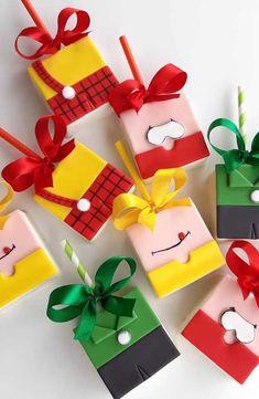 Opção de caixinhas para lembrancinhas com toda a Turma da Mônica Bento, Malu, Party Time, 3 D, Alice, Happy Birthday, Gift Wrapping, Candy, Sweets