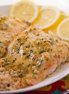 "Baked-Salmon-with-Honey-Dijon-and-Garlic   -   ""An easy baked salmon recipe that is full of flavor and easy to whip up! If you're a garlic and dijon lover, you'll flip for this baked salmon with honey dijon and garlic.""   -    #best recipe to try"