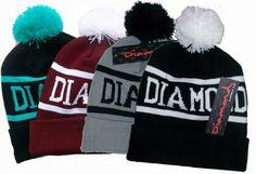 Hot Sale!Diamond Beanie 2013 Sport Winter Cap Men Hat Beanie Knitted Winter Hats For Women Fashion Caps