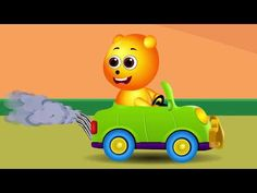 Gummy bear playing fun colors candy game | Finger family - YouTube