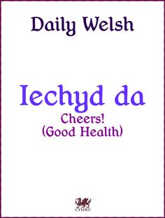 Daily Welsh❤Welsh is very tricky! Wales Uk, North Wales, Welsh Words, Welsh Phrases, Welsh Language, Second Language, Learn Welsh, Welsh Rugby, Cymru