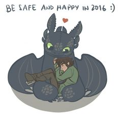 I'm learning. • Happy New Year to all of my followers, the HTTYD...