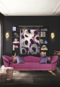 Black Living Room Ideas to Enhance your Home Decor | See more @ http://diningandlivingroom.com/black-living-room-ideas-enhance-home-decor/