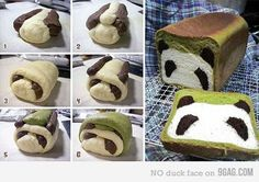 Cute bread! Too cute to eat.