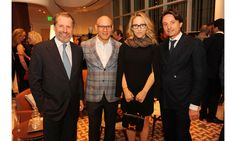The French fashion house debuted an exciting three-story shopping mecca in Miami's Design District—step inside the grand opening celebration. Pictured here: Guillaume De Seynes, Craig Robins, Jackie Soffer, Axel Dumas.