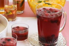 Here's a wonderful celebration drink that goes fizz! Punch! And tea!