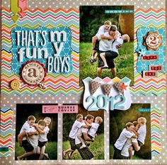 Scrap the Boys *page * layout