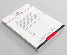 simple letter head corporate letter head design business