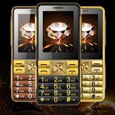 Super Fort Sound Dual SIM GSM Senior Mobile Técran Tactile Grande Police Vieux Personnes Téphone H-mobile Samsung Accessories, Cell Phone Accessories, Mobile Phone Sale, Mobile Phones, Phone Gadgets, Display Resolution, Dual Sim, Abs