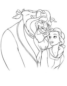 Beauty and the Beast Adult Coloring Book Lovely Belle and the Beast Colouring Pages Beauty and Beast Pikachu Coloring Page, Emoji Coloring Pages, Online Coloring Pages, Coloring Pages To Print, Colouring Pages, Coloring Pages For Kids, Adult Coloring, Coloring Books, Coloring Sheets