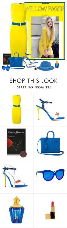 """Yellow Pages"" by katiethomas-2 ❤ liked on Polyvore featuring Dsquared2, Yves Saint Laurent, Italia Independent, Xerjoff, Barbisio, women's clothing, women, female, woman and misses"