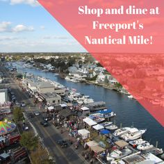 There are plenty of great sights to see and the Nautical Mile in Freeport is no exception. Dine and shop your way through it! RamadaRVC.com . . . . #Ramada #RockvilleCentre #LongIsland #NewYork #Hotel #Inn #Affordable #Stay #Near #JFK #JAG #AAA #AARP #discounts #Wedding #trends #rooms #block #planning #girlstrip #weekend #getaway #adventure #breakfast Long Island Attractions, Nautical Mile, Rockville Centre, Hotel Inn, Jfk, Wedding Trends, Rooms, Adventure, Breakfast