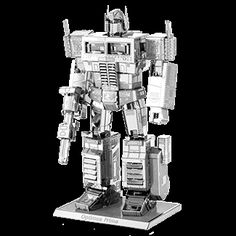 Assemble your own Optimus Prime from Transformers with ease with this Transformers Optimus Prime Metal Earth Model Kit from Fascinations! Metal Earth Models, Earth 3d, Cool New Gadgets, Popular Kids Toys, Good Birthday Presents, Transformers Optimus Prime, Robot Action Figures, Unique Toys, Original Gifts