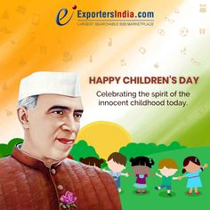 Celebrating the spirit of the innocent childhood today.