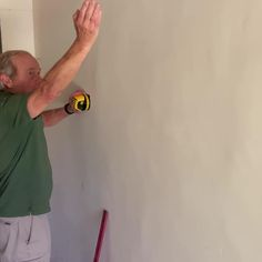 Learn how to use a laser level both indoors and outdoors - whether hanging picture frames or trying to get a level plumb line. #sawshub #laserlevel #homeDIY
