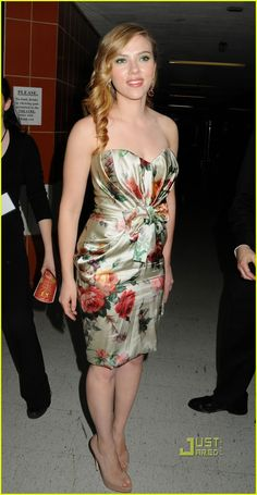 Scarlett Johansson - Drama Desk Awards 2010
