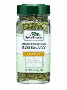 The Spice Hunter Rosemary, Mediterranean, Leaves, 0.8-Ounce Jar - http://spicegrinder.biz/the-spice-hunter-rosemary-mediterranean-leaves-0-8-ounce-jar/