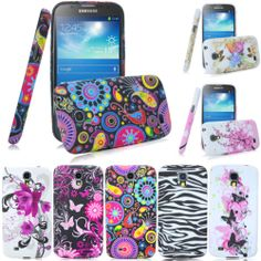 Flower butterfly Gel Tpu case cover for Samsung Galaxy S4 S IV Active i9295 i537