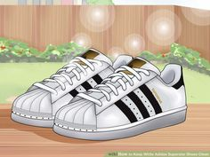 499b9705e1bf 3 Ways to Keep White Adidas Superstar Shoes Clean - wikiHow How To Whiten  Shoes