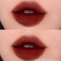 Goth Makeup, Skin Makeup, Makeup Inspo, Makeup Inspiration, Beauty Makeup, Gradient Lips, Ombre Lips, Korean Lips, Korean Makeup