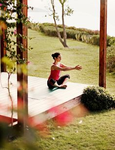 Practise yoga as part of your tailored Fusion Fitness holiday at Kempinski Barbaros Bay, Bodrum, Turkey