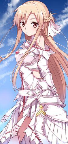 Sword Art Online, Asuna, by Tsuedzu