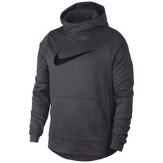 Nike Men's Therma Basketball Hoodie - Silver S Swag Outfits Men, Nike Outfits, Sport Outfits, Nike Sweatshirts, Hoodies, Nike Clothes Mens, Athletic Clothes, Nike Wear, Nike Pullover Hoodie