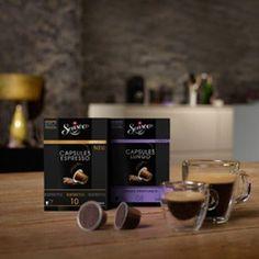 Die Senseo Capsules sind eine klasse Alternative zu Nespresso, einfach im Supermarkt zu haben, etwas günstiger. Allerdings merkt man schon ein wenig den Unterschied zum Original, wenn man eine Nespresso Maschine benutzt.