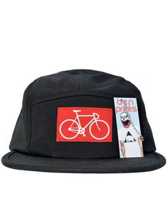 58afff828406 Bike Five Panel Hat Five Panel Hat, Cool Hats, Snapback Hats, Hats For