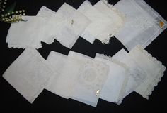 White Vintage Lace Crochet and Pretty by CheekyVintageCloset, $34.50
