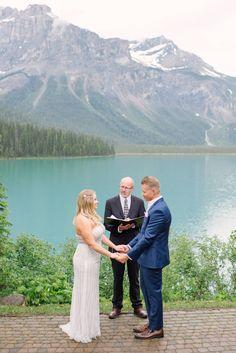 Emerald Lake Lodge Elopement via Minted Photography