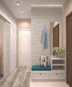 design and decor of the hallway interior for the hallway hallway interior to decorate the hallway Hallway Decorating, Entryway Decor, Interior Decorating, Flur Design, Hall Furniture, Hallway Designs, Home Interior Design, Living Room Decor, House Design