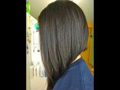 Long Asymmetrical Haircut - YouTube Totally my next hair cut