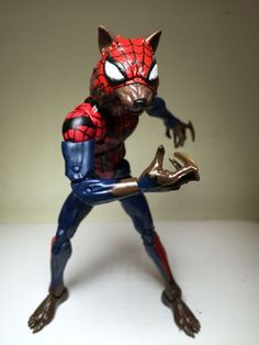 Wolf spider - Spiderman (Marvel Legends) Custom Action Figure