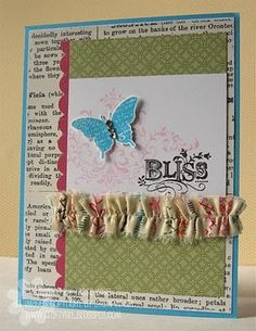 stampin' up! bliss butterfly