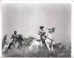The Lone Ranger and Tonto riding Silver and Scout Clayton Moore, Cowboy Films, The Lone Ranger, Those Were The Days, Good Old, Growing Up, Westerns, Concert, Silver