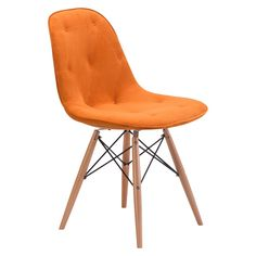 Zuo Probability Dining Chair - Orange