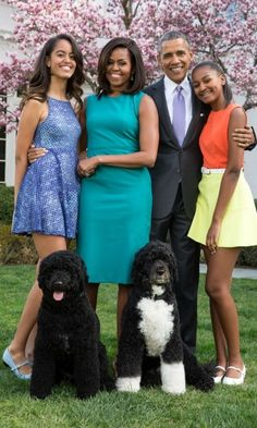 Malia parents promised to instill a sense of normalcy into her and Sasha's lives.   She and Sasha have shared their White House years with the puppy they'd been promised, and have enjoyed dinner for four each evening there, despite Barack's presidential commitments, while home rules kept the use of social media to a minimum.   Like most teens, Malia learned to drive at 16 – but it was under the instruction of secret service agents.