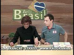 ARTE BRASIL - DAGLIMAR MOLAN - SUPLÁ COM PATCHDECOR E STENCIL (03/09/2010 - Parte 1 de 2) - YouTube