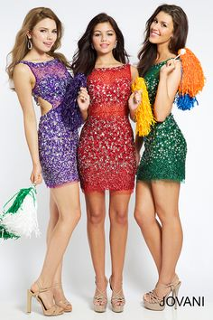 cut out beaded Party Dress 93076 - Homecoming Dresses