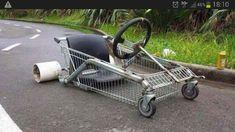 Literally a Go-Cart! Nice hybrid!