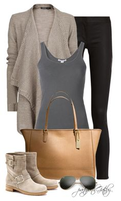 """""""Untitled #621"""" by partywithgatsby ❤ liked on Polyvore featuring MANGO, James Perse, Coach, Ray-Ban and Jimmy Choo"""