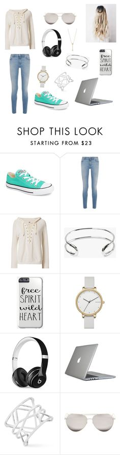 """Study date"" by macksanchez on Polyvore featuring Converse, Givenchy, NSF, Giles & Brother, Skagen, Beats by Dr. Dre, Speck, Vince Camuto, Linda Farrow and EF Collection"
