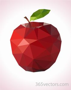 low-poly-apple-01